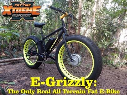 1c177d7f481 Fat Tire Electric Bikes  Xtreme E-Grizzly 1250 Watt 48 Volts -  1695